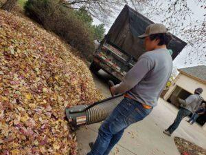leaf pickup manhattan ks